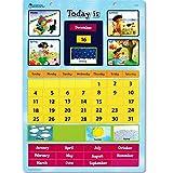 Learning Resources Magnetic Learning Calendar 【英語教材 壁掛けカレンダー】 マグネット式カレンダー 正規品