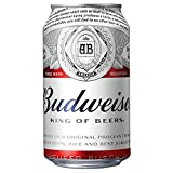 バドワイザー ビール 355ml缶 [ ラガータイプ アメリカ 355ml×24本 ]