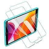 ESR iPad 10.2 フィルム 第七世代 iPad Air3/Pro 10.5 フィルム通用[貼る枠付き] 自動吸着 高透明 9H 旭硝子 2枚入り