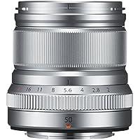 FUJIFILM 単焦点中望遠レンズ XF50mmF2 R WR S シルバー
