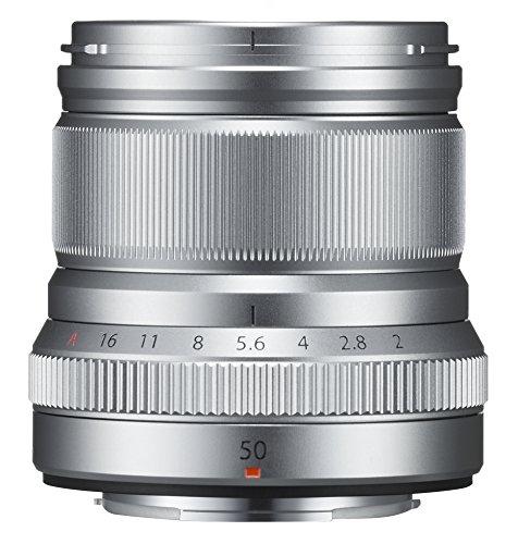 富士フィルム XF50mmF2 R WR シルバー 中望遠レンズ