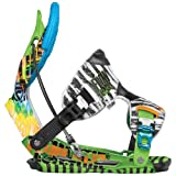 FLOW 12 NXT-AT SE (All-Montain/Freestyle)binding LIME(Tie-Dye) L(25.5-29.0cm)