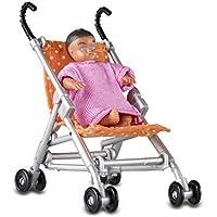 Lundby Smaland Dollhouse Stroller and Baby [並行輸入品]