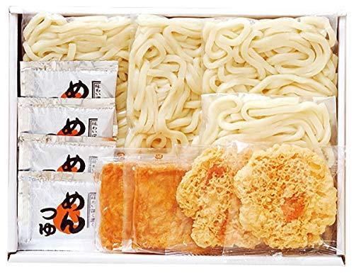 讃岐うどんきつね・天ぷら4食セット 616-25C