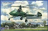 エイビス 1/48 ドイツ ドブルホフWNF342チップジェットヘリコプター (AMPブランド) プラモデル AVP48008