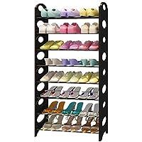 シューズラック- シンプルな近代的な靴のラック多層の経済的な大容量のストレージラックホーム居間のベッドルームシックな小さな靴シンプル (サイズ さいず : 125cm)