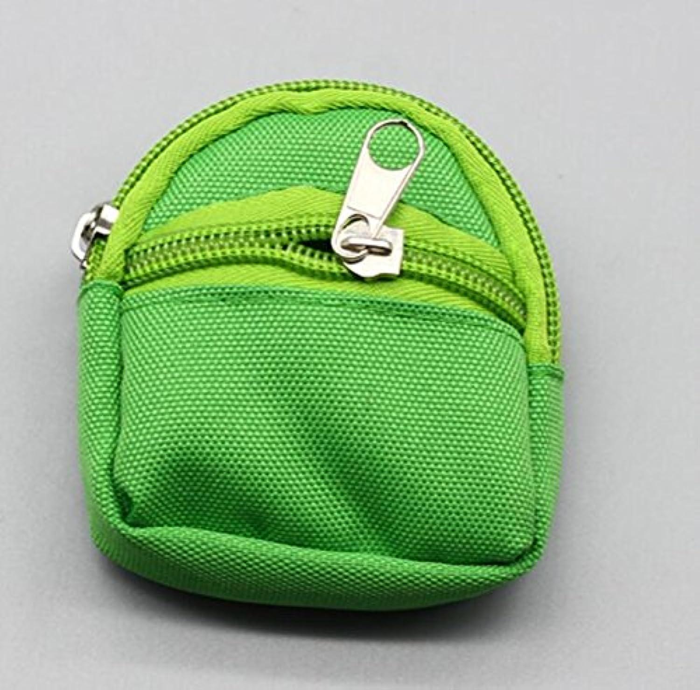 HuaQingPiJu-JP Girl Doll Backpackガールドール用のかわいいスクールバッグ(グリーン)