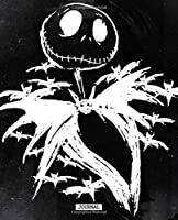 Journal: Journal Nightmare Before Christmas Jack Skellington Cute Drawing Photo Art Incredible Soft Glossy College Ruled Fantastic with Ruled Lined Paper for Taking Notes Writing Workbook for Teens and Children Students School Kids
