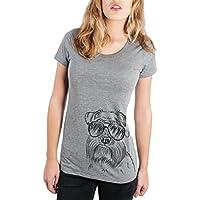 Inkopious Wrigley The Schnauzer Triblend T-Shirt