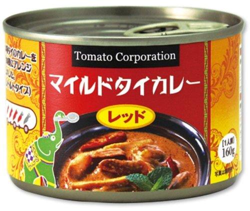 トマトコーポレーション マイルドタイカレー(レッド) 160g×24個