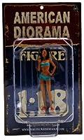 【American Diorama 】アメリカンジオラマ【1:18 Car Wash Girl Dorothy】フィギュア/カーウォッシュガール/ドロシー/洗車/模型