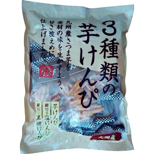3種類の芋けんぴ 600g (60g×10袋)