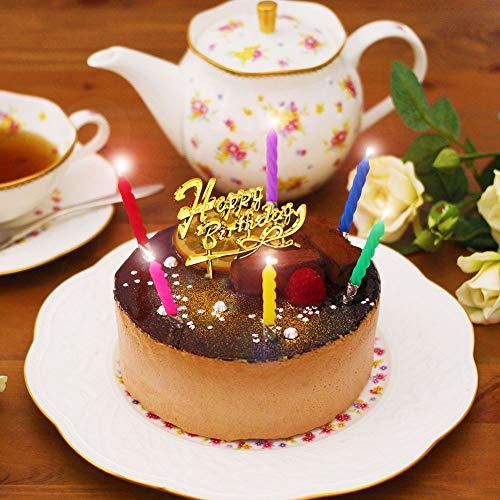 誕生日ケーキ 天使のおくりもの 生チョコトルテ 4号 2~3人分 冷凍 解凍8時間 (お届け日時指定・誕生日セット付)