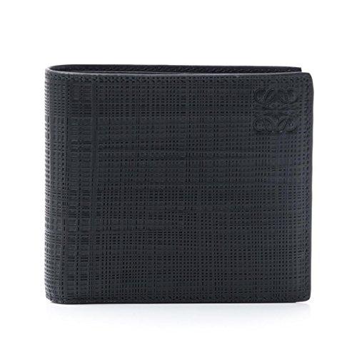 (ロエベ) LOEWE 二つ折り 財布 TEXTURED BOXCARF [並行輸入品]
