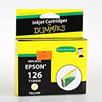 Ink for Dummies T1264 Inkjet Cartridge, Yellow [並行輸入品]