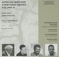 African Heritage Symphonic Series, Volume 3