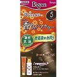 ホーユー ビゲン香りのヘアカラー乳液5 (ブラウン) 40g+60mL ×6個