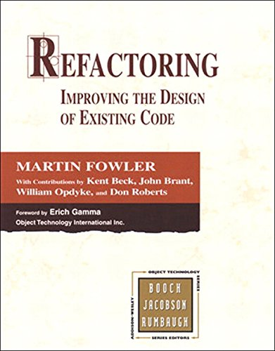 Refactoring: Improving the Design of Existing Code (Addison-Wesley Object Technology Series) (English Edition)