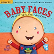 Indestructibles: Baby Faces: Chew Proof · Rip Proof · Nontoxic · 100% Washable (Book for Babies, Newborn Books