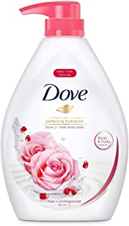 Dove Go Fresh Rose Pomegranate Paraben-free Body Wash, 1L