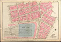 Historicマップ  1928Atlas of the City of Bostonボストン、適切なand Back Bay :プレート12 アンティークヴィンテージReproduction 24in x 16in 5118033_2416