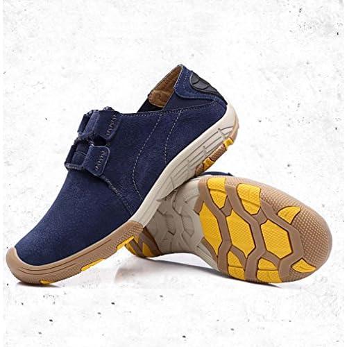 (チェリーレッド) CherryRed メンズ 靴 シューズ 紳士靴 カジュアルシューズ スニーカー 運動靴 スリッポン イギリス風 登山靴 レッキング ハイキング マウンテン シューズ 革靴 本革 作業靴 軽量 履き心地よい ブルー