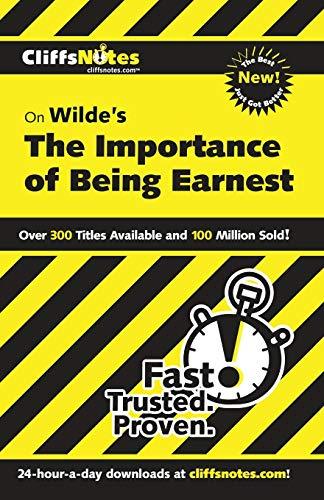 Download CliffsNotes Wilde's The Importance of Being Earnest (CLIFFSNOTES LITERATURE) 0764544616