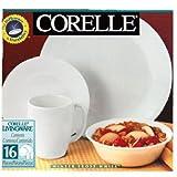 Corelle (コレール) ウインターフロストホワイト 16ピースセット [並行輸入品]