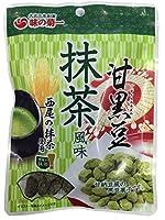 菊池食品工業 甘黒豆抹茶風味×10個