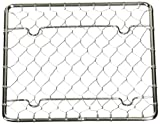 ステンレス 手編み 盛付網 角(100×100)