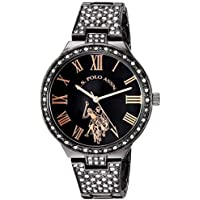 U.S. Polo Assn. Women's Analog-Quartz Watch with Alloy Strap, Silver, 13.8 (Model: USC40325)