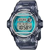 Casio Baby G Women BG169R-8B Year-Round Digital Automatic Blue Watch