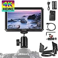 Tycka 5インチ カメラフィールドモニター 4K HDMI信号入力 IPSスクリーン 1920x1080高解像度 超軽量 撮影モニター Sony、Nikon、Canon DSLR、GPOROに対応 TK217