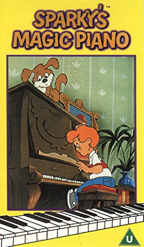 Sparky's Magic Piano [VHS] [Import]