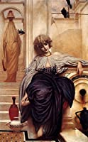 Lord Frederick Leighton Lieder ohne Worte 1ARTIST PAINTING OILキャンバスREPRO 24x16inch US17903-a