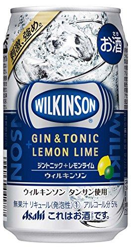 ウィルキンソン ジントニック+レモンライム 缶 350ml
