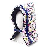 防災頭巾 ホワイト・パープル N4439500