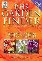 Rhs Garden Finder 2007-2008 (Rhs Garden Finder (Royal Horticultural Society))