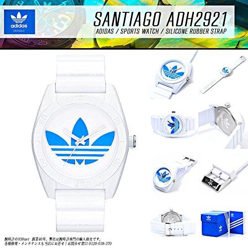 アディダス ADIDAS サンティアゴ クオーツ メンズ 腕時計 ADH2921 ホワイト...