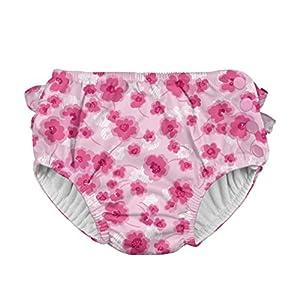 アイプレイ iplay オムツ機能付 水遊び用パンツ スイムダイパー スイミングパンツ 女の子 XL:24ヶ月 Light Pink Poppy