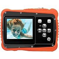 子供カメラ トイカメラ キッズカメラ 3m防水機能 12MP画素 耐衝撃性 録画機能 マイク内蔵 日本語説明書 多種言語対応 かわいい 子供用デジタルカメラ 子供プレゼント(ブラック, BO-CAMR01)