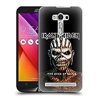 オフィシャルIron Maiden The Book Of Souls アルバムカバー Zenfone 2 Laser ZE550KL 専用ハードバックケース