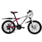 Altruism K9 子供用自転車 20インチ 子供用ロードバイク 軽量自転車 子供 クロスバイク シマノ21段変速 自転車通学用 アルミニウム合金(紫色)