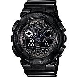 [カシオ] 腕時計 ジーショック GA-100CF-1AJF ブラック