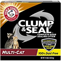 Arm & Hammer Clump & Seal Litter, Mulit-Cat, 19 Lbs by Arm & Hammer