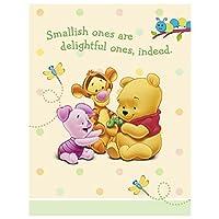 Pooh赤ちゃん日Invitations 8ct