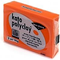 katopolyclay オーブン粘土 2オンス(56g) オレンジ