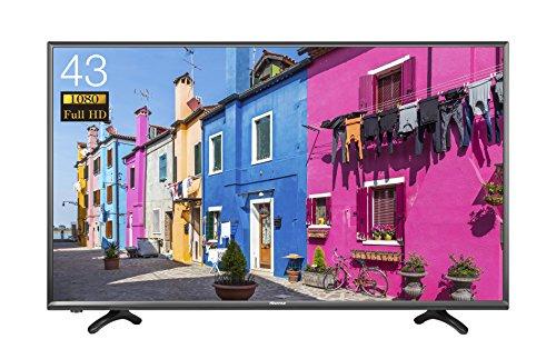 ハイセンス 43V型 フルハイビジョン 液晶 テレビ 外付けHDD 録画 裏番組録画 メーカー3年保証 HJ43K3121