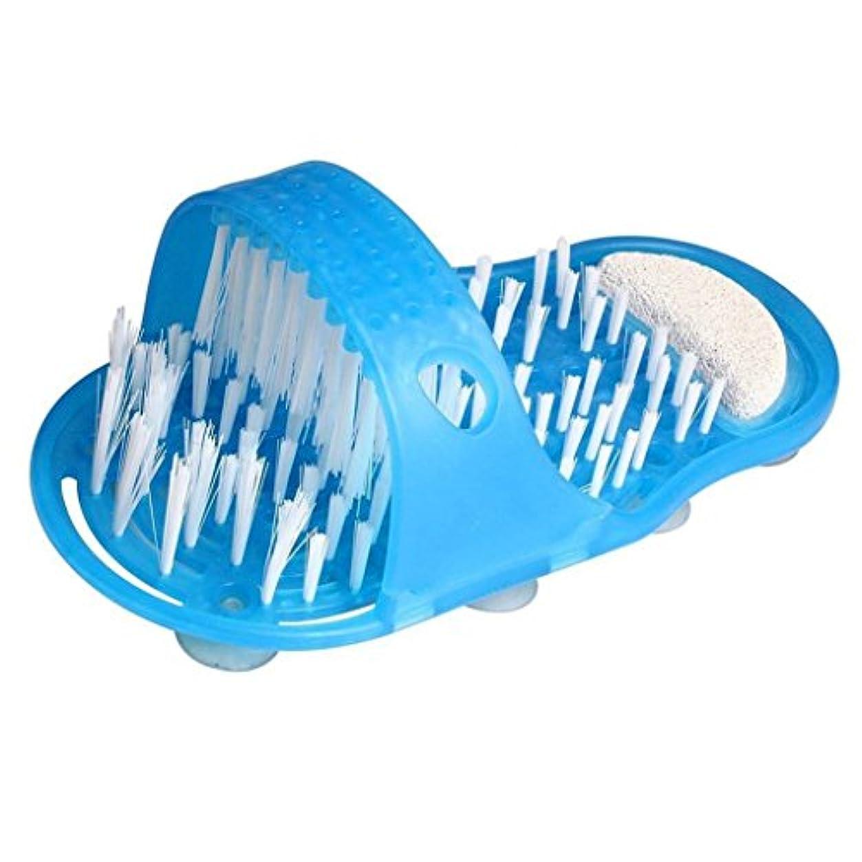 増強プレゼント発音するCUTICATE フットマッサージスクラバー シャワー バスルームスリッパ フィートケア マッサージャー