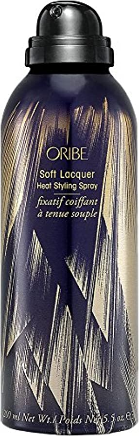 論争混雑彫刻家by Oribe SOFT LACQUER HEAT STYLING SPRAY 5.5 OZ by ORIBE